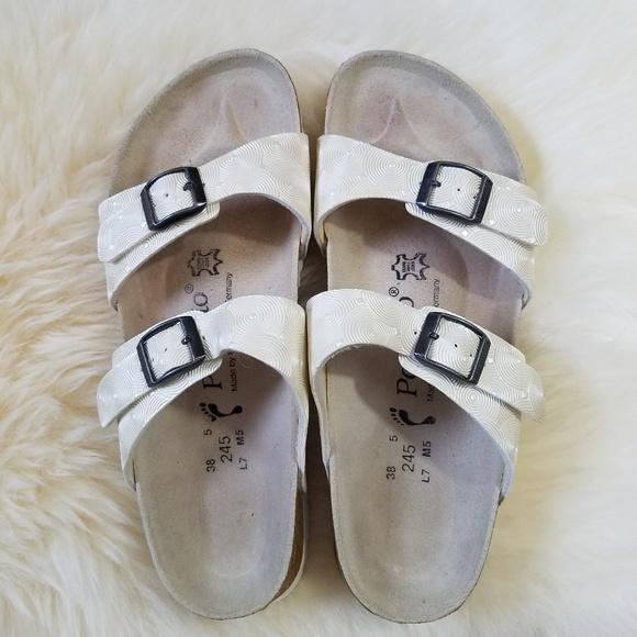 8c23599b328e Birkenstock Shoes - Birkenstock Papillio sandals white circles US 7 38